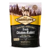 Carnilove Trockenfutter Adult mit Huhn und Kaninchen 1,5 kg