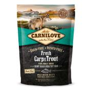 Carnilove Trockenfutter Adult mit Karpfen und Forelle 1,5 kg