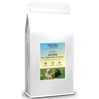 NATURA EXCELLENT Hundefutter Adult mit Huhn und Süßkartoffel 2kg