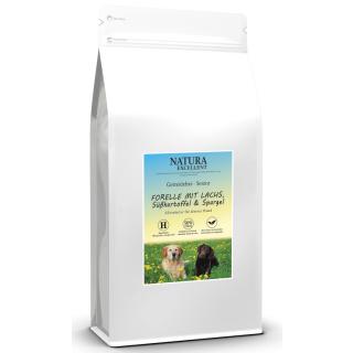 NATURA EXCELLENT Hundefutter Senior mit Forelle und Lachs 12kg