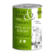 Lilou & Émile Adult Menu No.7 mit Ente, Pute...