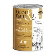 Lilou & Émile Adult Menu No.3 mit Kalb und...