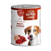 arriba Hundenassfutter mit Multifleisch 800g