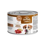 arriba Hundenassfutter mit Pansen und Rind 200g