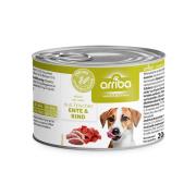 arriba Hundenassfutter mit Ente und Rind 200g