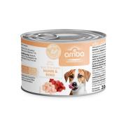 arriba Hundenassfutter mit Huhn und Rind 200g