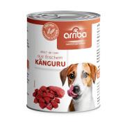 arriba Hundenassfutter mit Känguru 800g