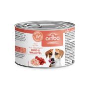 arriba Hundenassfutter mit Wachtel und Rind 200g