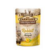 Carnilove Nassfutter Pouch Kitten mit Kaninchen und...