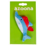 azoona Katzenspielzeug Hai Pirat 6 x13cm