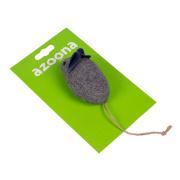 azoona Katzenspielzeug Eco Maus 14,5x4cm
