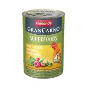 animonda Superfoods GranCarno Huhn und Spinat 400g