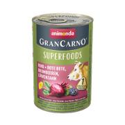 animonda Superfoods GranCarno Rind und Rote Bete 400g
