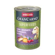 animonda Superfoods GranCarno Lamm und Amaranth 400g