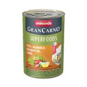 animonda Superfoods GranCarno Pute und Mangold 400g