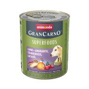 animonda Superfoods GranCarno Lamm und Amaranth 800g