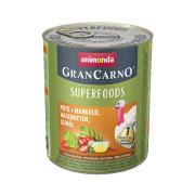 animonda Superfoods GranCarno Pute und Mangold 800g