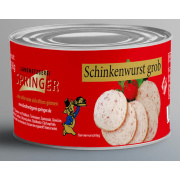Landmetzgerei Springer Dosenwurst Schinkenwurst  grob 190g
