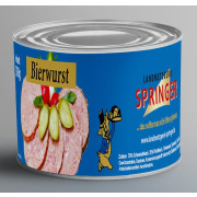 Landmetzgerei Springer Dosenwurst Bierwurst 390g