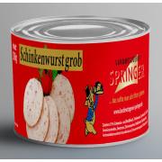 Landmetzgerei Springer Dosenwurst Schinkenwurst  390g