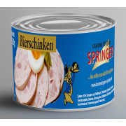 Landmetzgerei Springer Dosenwurst Bierschinken 390g