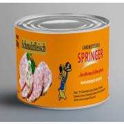 Landmetzgerei Springer Dosenwurst Schmalzfleisch 390g