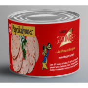 Landmetzgerei Springer Dosenwurst Paprikalyoner 390g