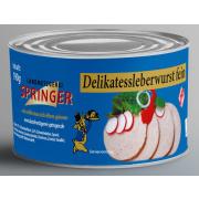 Landmetzgerei Springer Dosenwurst Delikatessleberwurst 190g