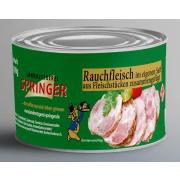 Landmetzgerei Springer Dosenwurst Rauchfleisch 190g