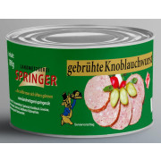 Landmetzgerei Springer Dosenwurst Knoblauchwurst 190g