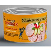 Landmetzgerei Springer Dosenwurst Schinkenwurst  geraucht...