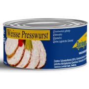 Landmetzgerei Springer Dosenwurst weisse Presswurst 125g