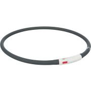 Trixie Flash Leuchtring XS-XL 70cm USB schwarz