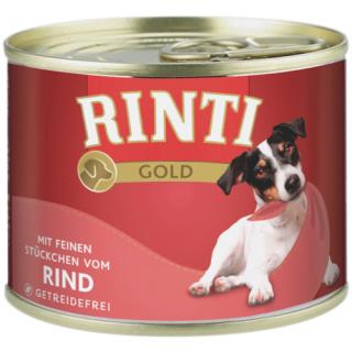 Rinti Hundenassfutter Gold Rind 185g