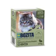 BOZITA Katzennassfutter Kaninchen in Gelee 370g Tetrapack
