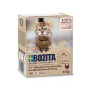 BOZITA Katzennassfutter Hühnchen und Pute in...