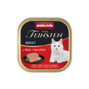 animonda Vom Feinsten Adult Rind und Kartoffeln 100g Schale