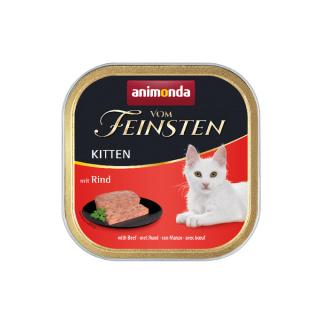 animonda Vom Feinsten Kitten mit Rind 100g Schale