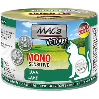 MACS Cat Mono Sensitive Lamm (100%) mit Karotte 200g