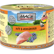 MACs Cat Fleischmenü Pute und Heidelbeeren 200g