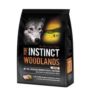 PURE INSTINCT Woodlands Mini/Medium Junior mit Huhn und Truthahn 1 kg