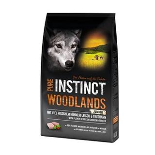 PURE INSTINCT Woodlands Mini/Medium Junior mit Huhn und Truthahn 8 kg