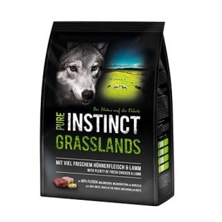 PURE INSTINCT Grasslands Adult  mit Huhn und Lamm 1 kg