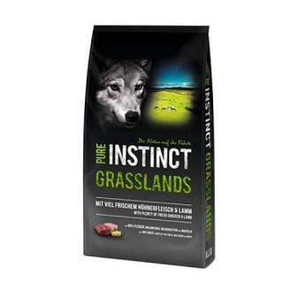 PURE INSTINCT Grasslands Adult mit Huhn und Lamm 12 kg