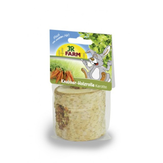 JR Farm Knabber Holzrolle Karotten