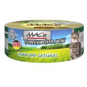 MACs Cat Feinschmecker Menü Lamm und Geflügel 100g