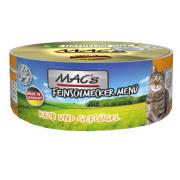 MACs Cat Feinschmecker Menü Kalb und Geflügel 100g