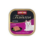 animonda Vom Feinsten Kitten mit Lamm 100g Schale
