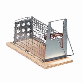 Drahtkastenfalle mit Einlauf für Mäuse 15cm