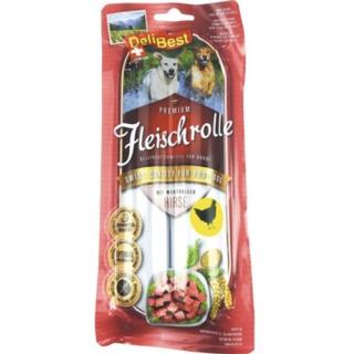 DeliBest Fleischrolle mit Huhn& Hirse 2x400g
